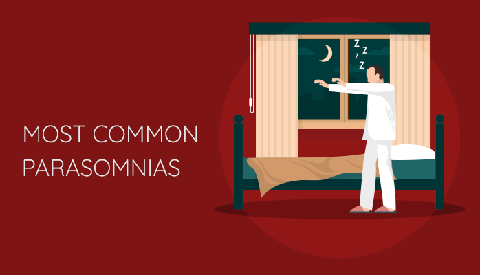 What are Most Common Parasomnias?