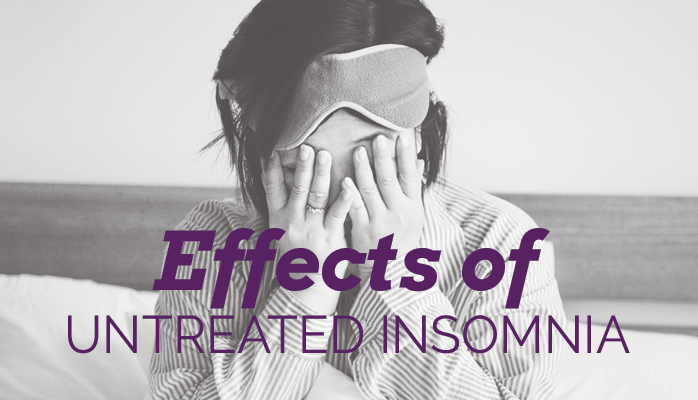Effects of untreated insomnia