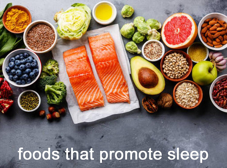 Foods that promote better sleep - Anchroage Sleep Center blog