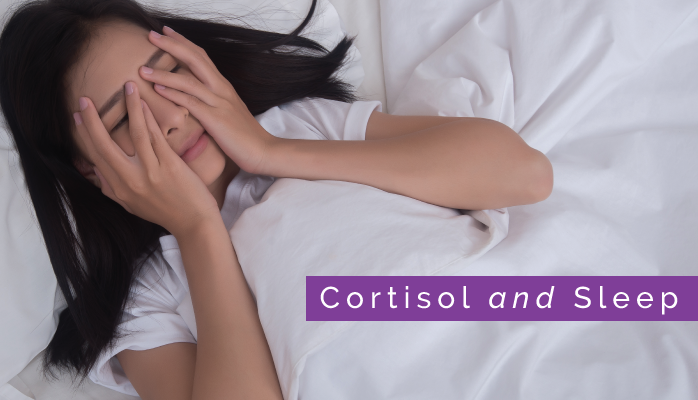 How cortisol affects sleep