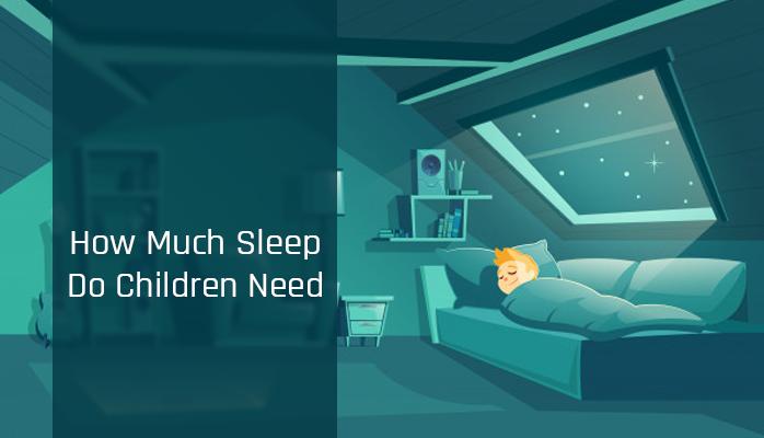 How much sleep do children need - Anchroage Sleep Center