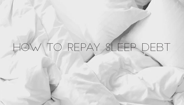 How to repay sleep debt - Anchorage Sleep Center