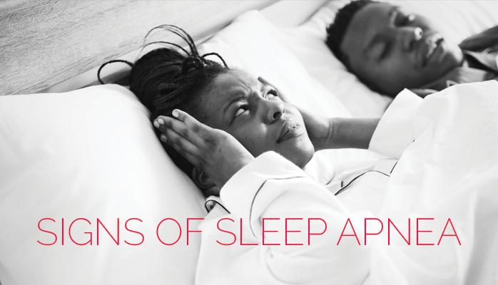 Signs of sleep apnea