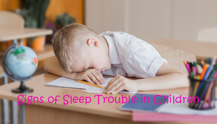 Signs of sleep trouble in children