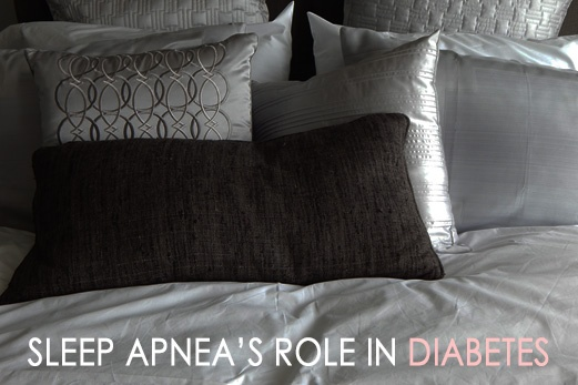 Sleep apnia role in diabetes