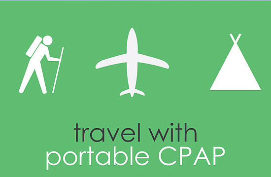 Traveling with a portable CPAP is limitless