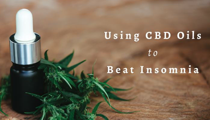 Using CBD oil to beat insomnia