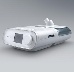CPAP machines small and portable, like this one